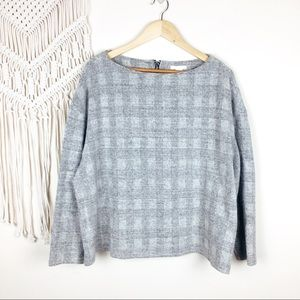H&M • Plaid Pullover Sweater